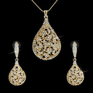 Indian bridal jewelry set gold plated dangle ball earrings for Is gold plated jewelry worth anything