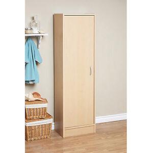 Image Is Loading Kitchen Cabinet Pantry Storage Single Door 4 Shelves