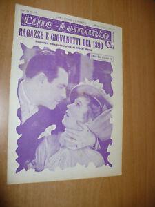 CINEMA-CINE-ROMANZO-N-173-1931-RAGAZZE-E-GIOVANOTTI-DEL-1890-M-DAVIES-L-GRAY
