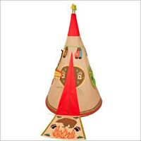 Garden Childrens Wigwam Play Tent Indoor Or Out With Dress Up Accessories