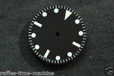 Plain Milsub Watch Dial for ETA 2836 / 2824 Movement White Lume 27mm