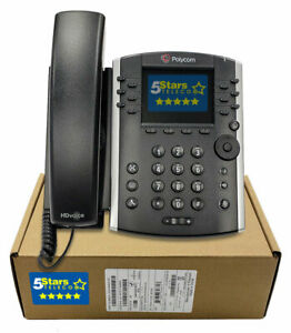 Polycom-VVX-411-Gigabit-IP-Phone-PoE-2200-48450-025-Brand-New-1-Year-Warranty