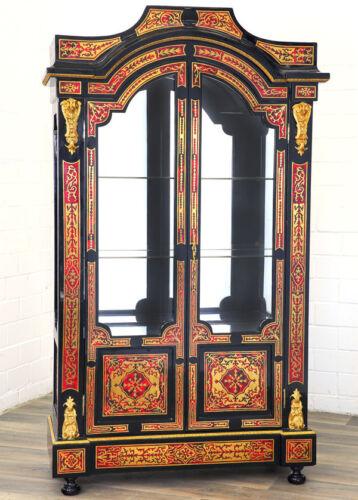 display cabinet Fasto-LIBRERIA VETRINA circa 192cm grande Boulle VETRINA ARMADIO