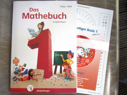 1 von 1 - Das Mathebuch 1 Bayern- NEU mit Beilagen + CD-ROM - ISBN 9783619154708