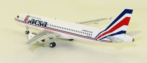 INFLIGHT 200 IFEA320LR1019 1//200 LACSA AIRBUS A320-200 N481GX WITH STAND