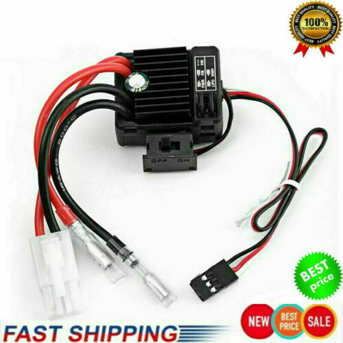 RC Car QuicRun 1060 60A Brushed ESC Electronic Speed Controller Hot