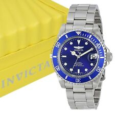 Invicta 9094OB Men's Pro Blue Dial Automatic Stainless Steel Diver Watch