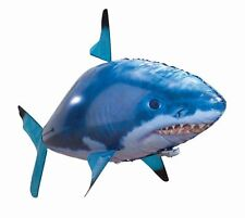 AIR Swimmers RC GIGANTE FLYING SHARK RADIO CONTROL FLYING SHARK Xmas giocattolo nuovo