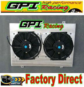 Aluminum-Radiator-Shroud-fan-Ford-Falcon-BA-BF-V8-Fairmont-XR8-amp-XR6-Turbo-GPI