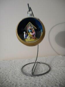 Hallmark-Lighted-Christmas-Nativity-Decoration-NWT