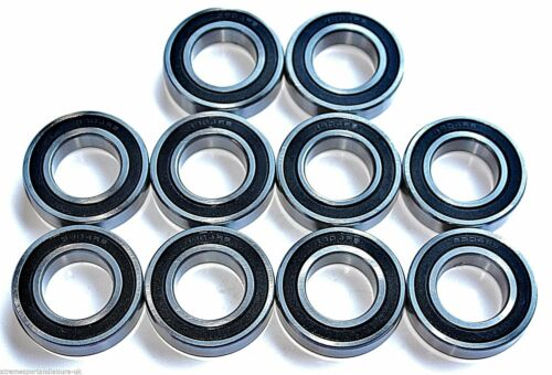 10 pack 61902 2rs 690215x28x7w SEALED HIGH PERFORMANCE CARTRIDGE BEARINGS