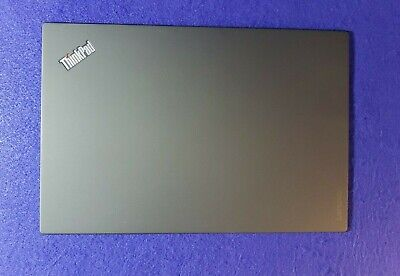 GENUINE LENOVO THINKPAD X1 CARBON 5TH LCD BACK COVER WQHD BLACK 01LV501