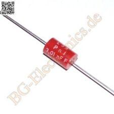 NOS 10 nF // 160 VDC 30x LCC PCF 110 Kondensator axial Tone Capacitor