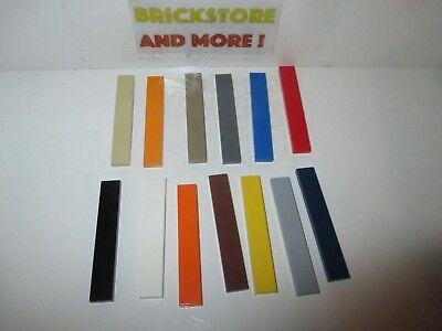 Dedito Lego - Tile Plate Plaque Lisse 1x6 6636 - Choose Color And Quantity X2 X4 X8 X16
