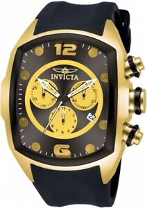 Invicta Lupah Chronograph Black Dial Men's Watch 10067