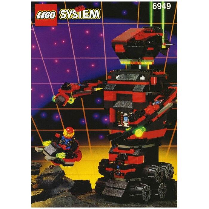 Juego De Lego 6949-spyrius robo-guardián (espacio), completo con caja, convirtiéndose en Raro