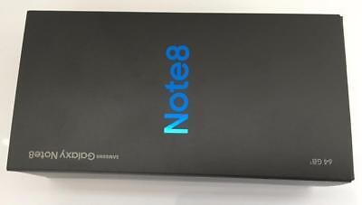 NEW SEALED UNLOCKED SAMSUNG GALAXY NOTE8 64GB BLACK CLEAN IMEI SM-N950U AT&T