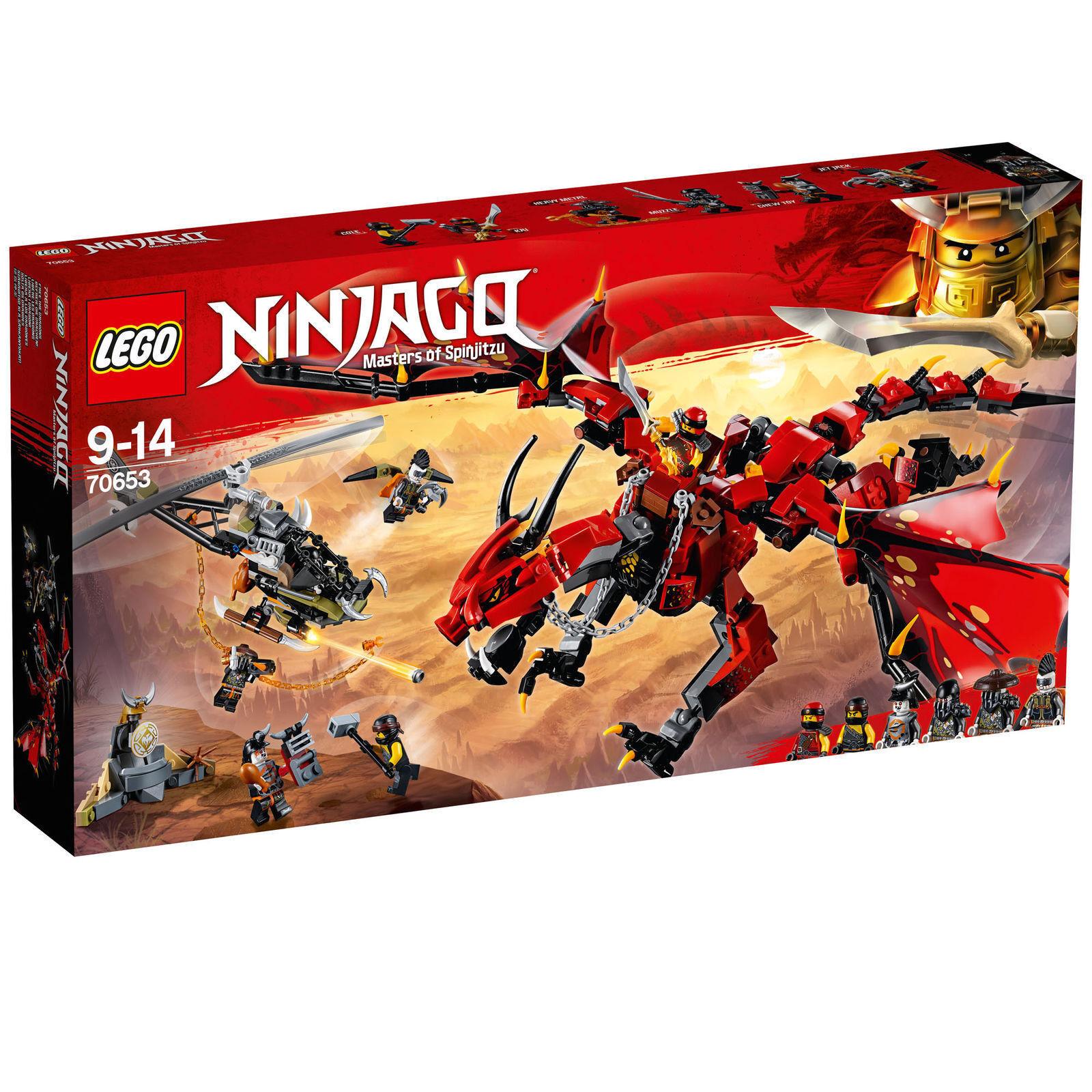 LEGO NINJAGO DRAGONE DEL DESTINO - LEGO 70653