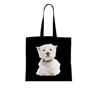 WEST HIGHLAND WHITE TERRIER Einkaufstasche Tasche shopping bag groß WT2