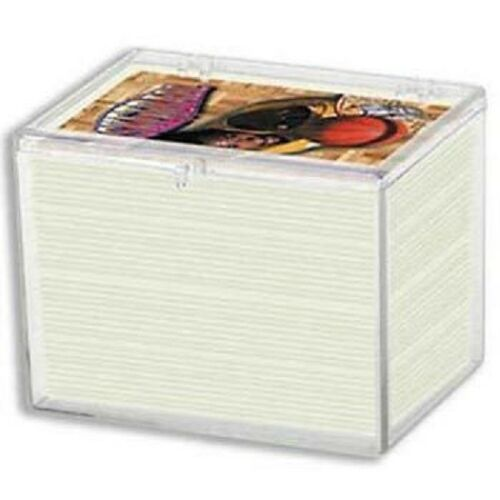 Ultra Pro 100-Card Hinged Plastic Boxes Holders For Trading Cards Pack of 3