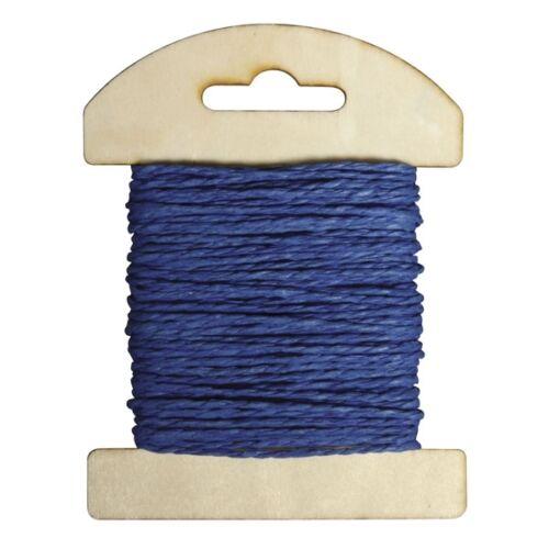 10m para sus manualidades Cordel de yute de color azul royal