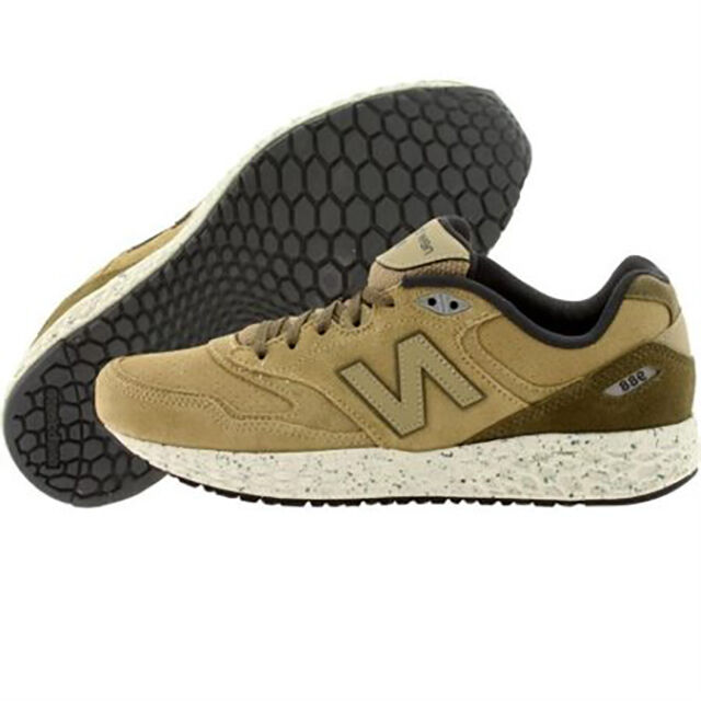 NEW New Balance M988OB Fresh Foam Low Cut Cut Cut Tan Sz 8 D f9ef83