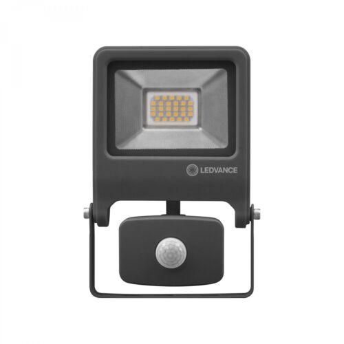 LEDVANCE ENDURA FLOOD SENSOR 20 W LED Wandstrahler Warmweiß 18,9 cm Aluminium Du