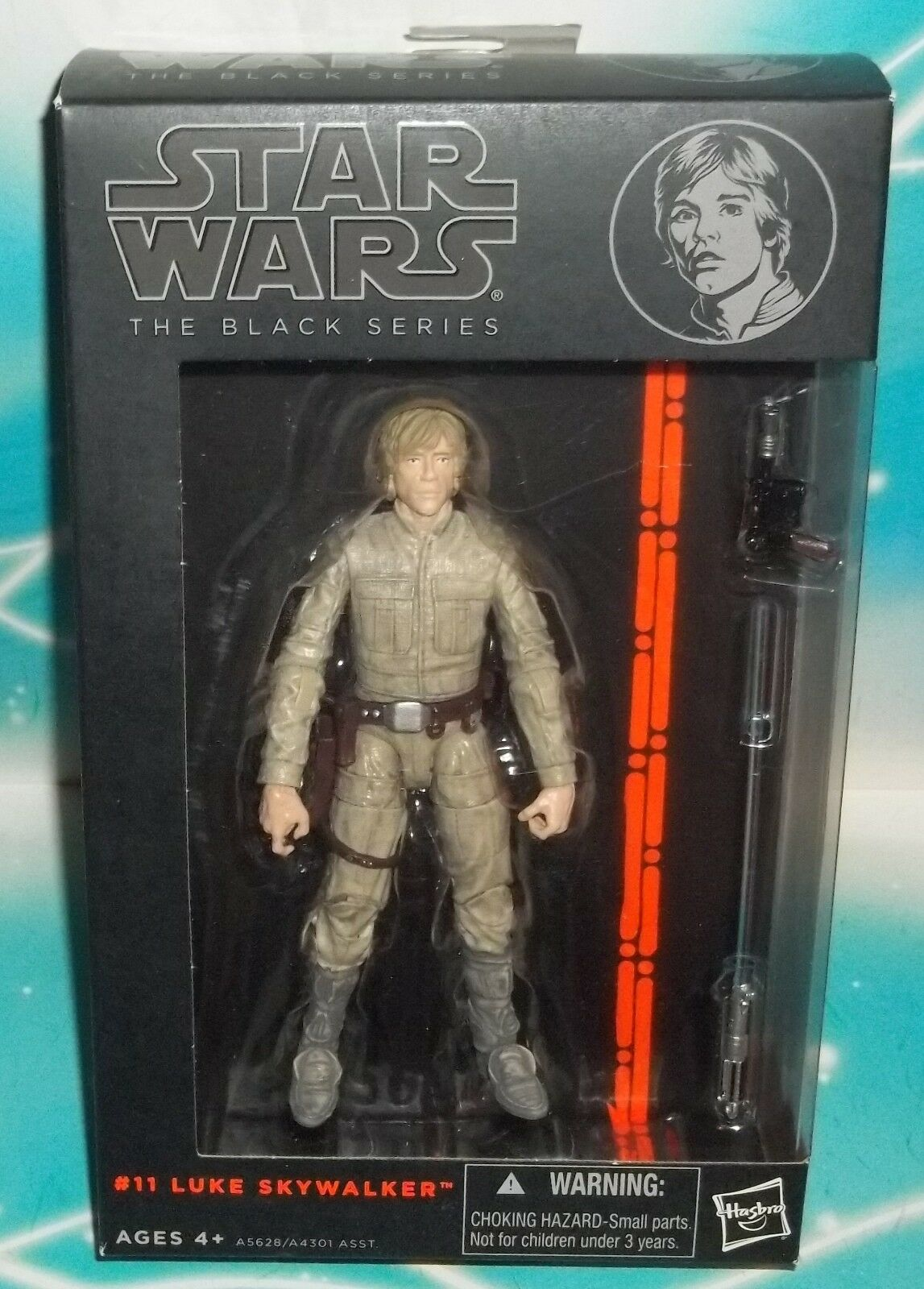 Star Wars nero Series 6 pulgadas Cloud City duelo  Bespin Outfit Luke Figura