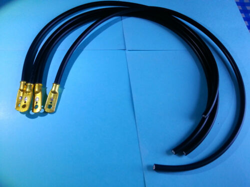 1920s Vintage Bullnose Morris Cowley Spark Plug HT Lead Set GA4 Magneto