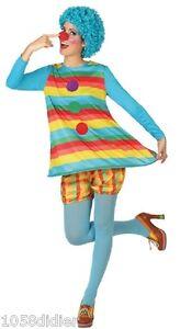 Déguisement Femme Clown Xs/s 36/38 Costume Adulte Cirque Neuf Pas Cher Ai0goa1r-07175824-877544599
