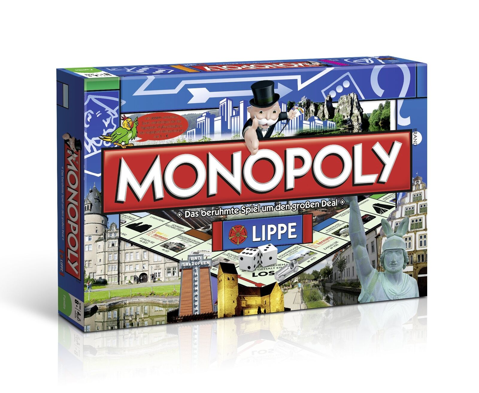Monopoly Lip Game Board Game Party Game New