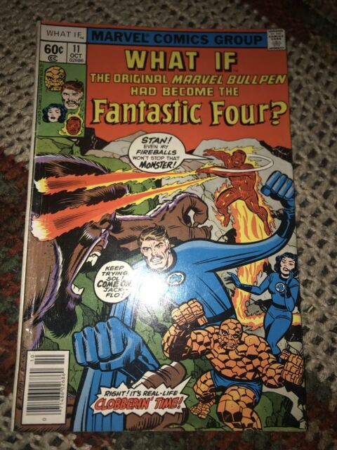 WHAT IF#11 VF+ STAN LEE + KIRBY MARVEL COMIC 1978