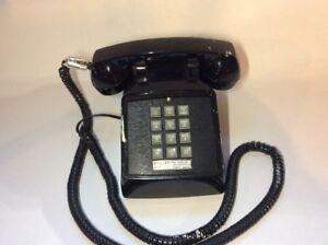 CORTELCO-Telephone-Push-Button-Touch-tone-Black-Phone-250000-VBA-20M