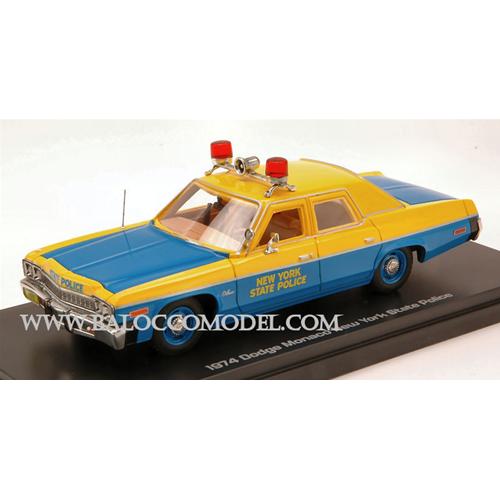 DODGE MONACO NEW YORK STATE POLICE 1974 1:43 Auto World Forze dell'Ordine