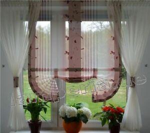 Details zu Moderne Gardinen Wohnzimmer Fensterdekoration Rosa Fenster 120  -180 Nr. 468