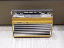Vintage Rare Schaub Lorenz Touring 80 Luxus portable radio wooden box