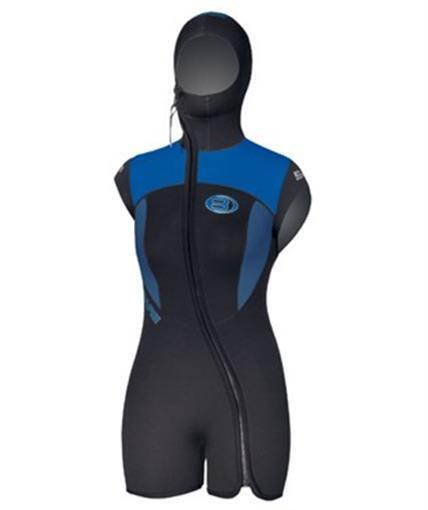 Bare Velocity Wetsuit w Hood Size 10+ 7mm Scuba Diving Free Diving Swim Snorkel