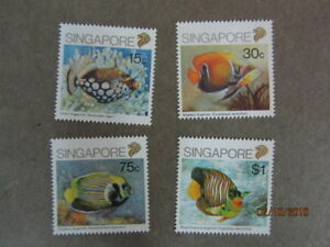 Singapore-1989-Fish-Stamps