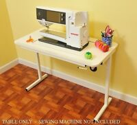 Bernina 830 Arrow Heavy Duty Sewing Table W/insert (sewing Machine Not Included)