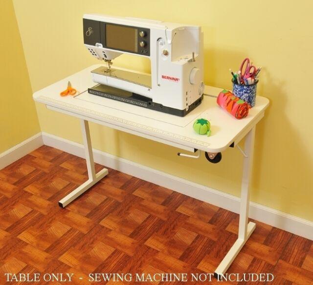 Bernina 830 Arrow Heavy Duty Sewing Table W Insert Machine Not Included