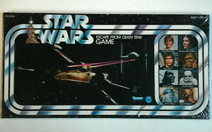 1977-STAR-WARS-Escape-From-Death-Star-Game-Vintage-Original-SEALED-box