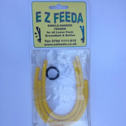 Ezfeeda Spare Elastics Original Yellow Pack of 3