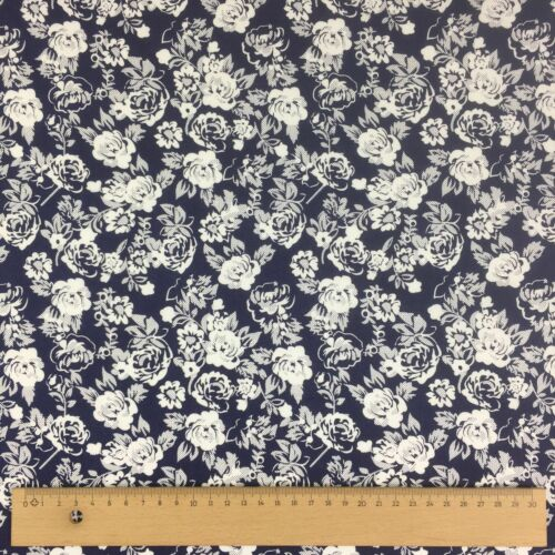 "Per Metre NEW 100/% Cotton Floral Designs Fine Weave Dress Fabric 60/"" Wide"