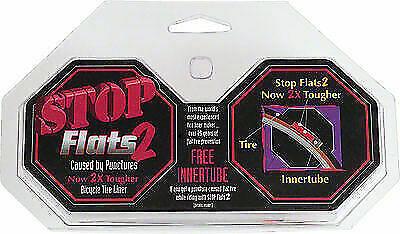 "STOP FLATS V2 26/"" X 2.0/""-2.125/"" BMX BIKE BROWN BICYCLE TIRE LINERS--MTB CRUSIER"