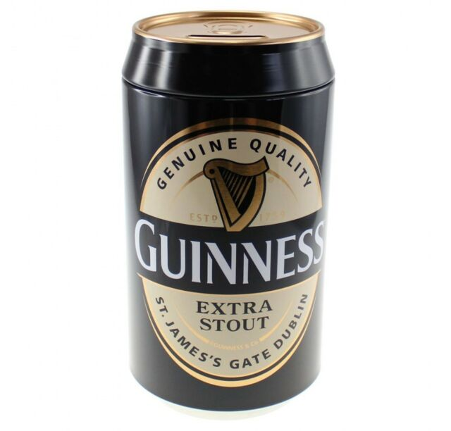 Guinness Beer Can Money Bank Official Merchandise