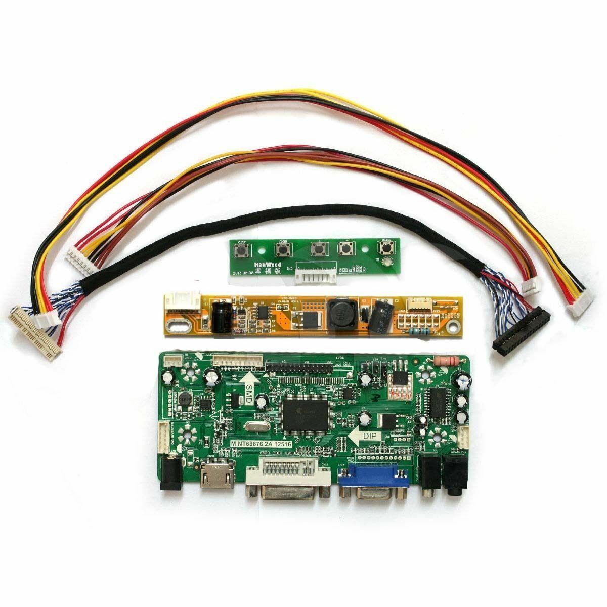 C1 LP154WX4-TLC1 TL HDMI+DVI+VGA LCD LED Controller Board Driver  For LP154WX4