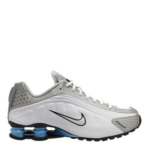 Details about Nike Shox R4 White/University Blue-Silver Men's Running Shoes  104265-133