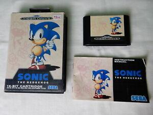Sonic-the-Hedgehog-fur-Sega-Mega-Drive-CIB-OVP-Komplett