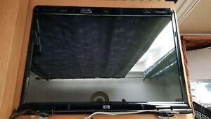 "HP Pavilion DV9000  17"" Screen + Plastic LCD Back Cover - Off HP DV 9500 Laptop"
