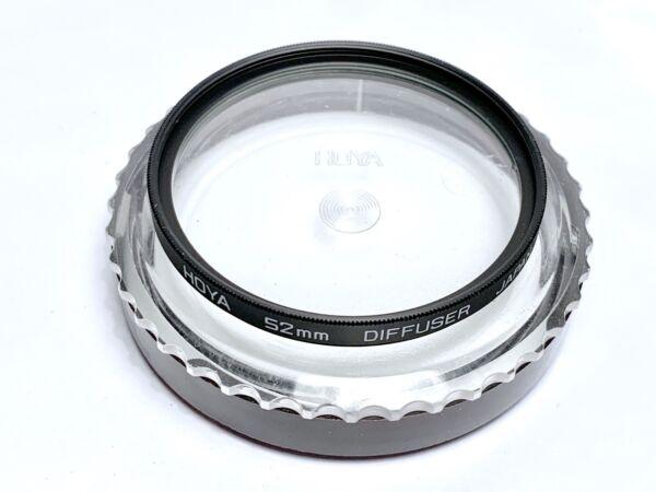 100% De Qualité Filtre Photo Hoya Diffuser Pour Objectifs Pas De Vis 52mm Thread Lenses